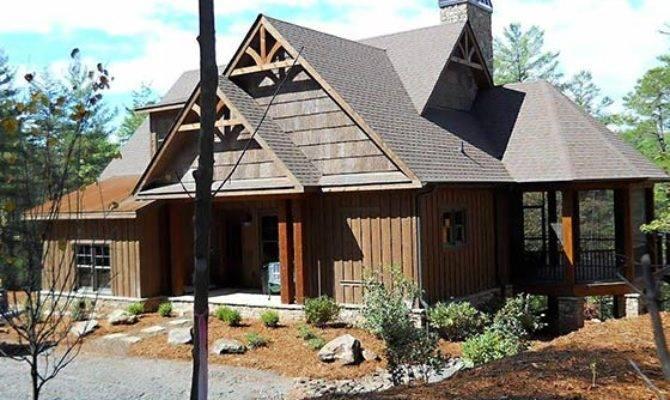 Bedroom Rustic House Plan Porches Stone Ridge Cottage