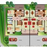 Bedroom Semi Detached House Plans Home Design Decor Ideas