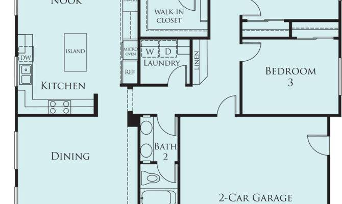 Bedroom Single Floor House Plans