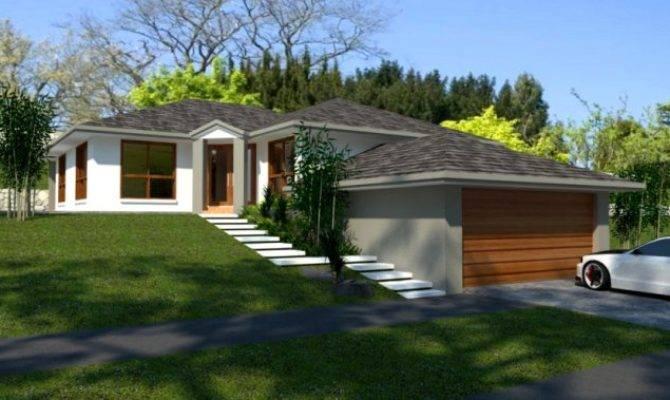 Bedroom Sloping Land Split Level Australian Kit Homes