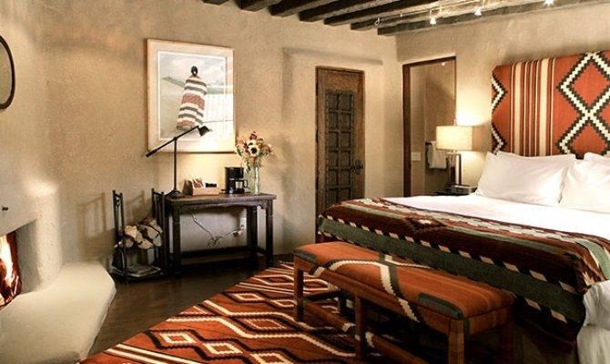 Bedroom Southwestern Design