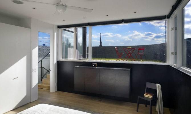 Bedroom Split Level House Philadelphia Design