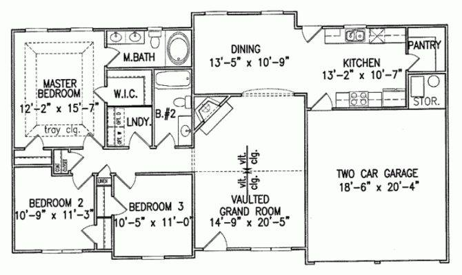 Bedroom Square Feet Bedrooms Eplans House Plan