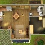 Bedroom Starter Sims House Plans Pinterest