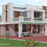 Bedroom Story House Exterior Design Kerala Home Floor