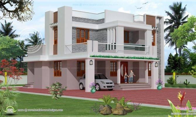 Bedroom Story House Exterior Design Kerala Home Floor