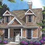 Bedroom Storybook Cottage Plan