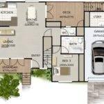 Bedroom Townhouse Design Kit Home Designs