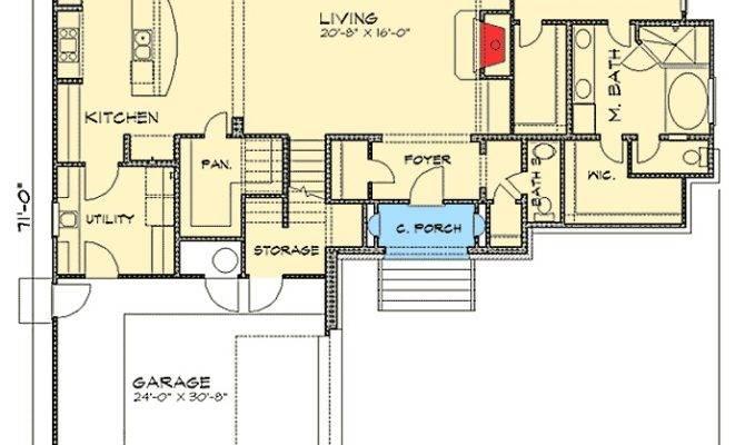 Bedroom Tuscan Villa House Plan Floor