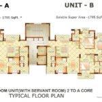 Bedroom Unit Servant Room Core Towers