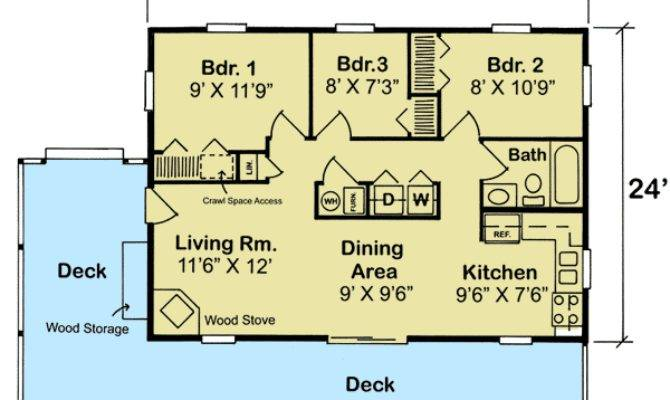 Bedroom Vacation Cottage Floor Master
