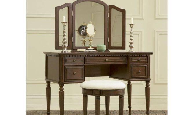 Bedroom Vanity Woodworking Plans Set