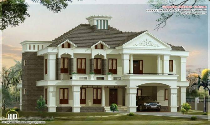 Bedroom Victorian Style Luxury Villa Design House