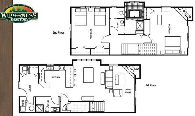 Bedroom Villa Wilderness Lodge Floor Plan