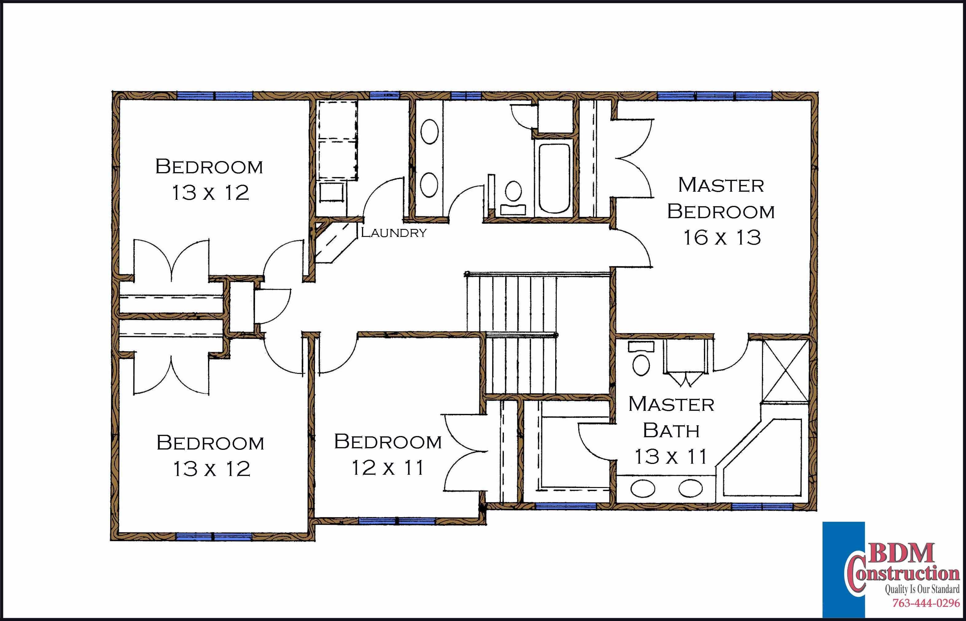 Bedroom Walk Closet Floor Plan Second