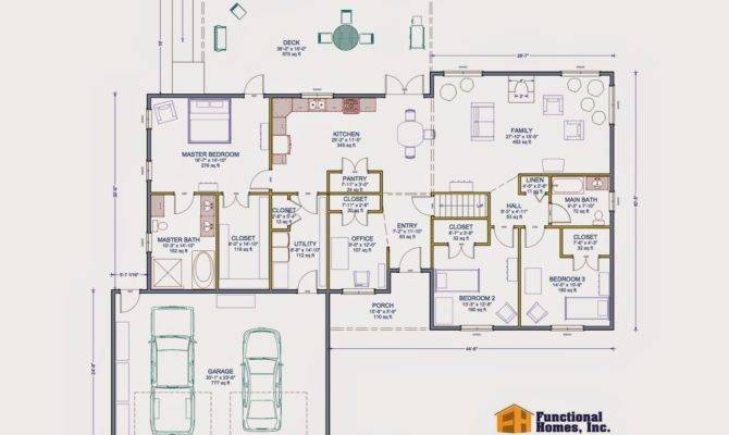 Bedroom Wheelchair Accessible House Plan Work