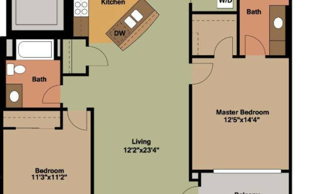 Bedrooms Floor Plans Jackson Square