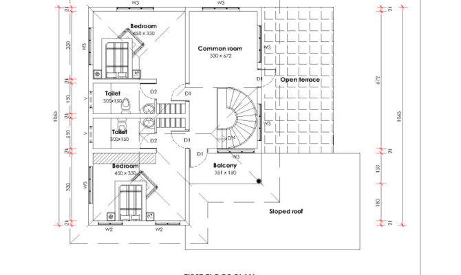 Bedrooms House Plans