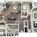 Bedrooms Not Large But Centralize Living Area Patio Leave
