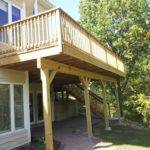 Beginer Easy Landscaping Ideas Under Second Story Deck
