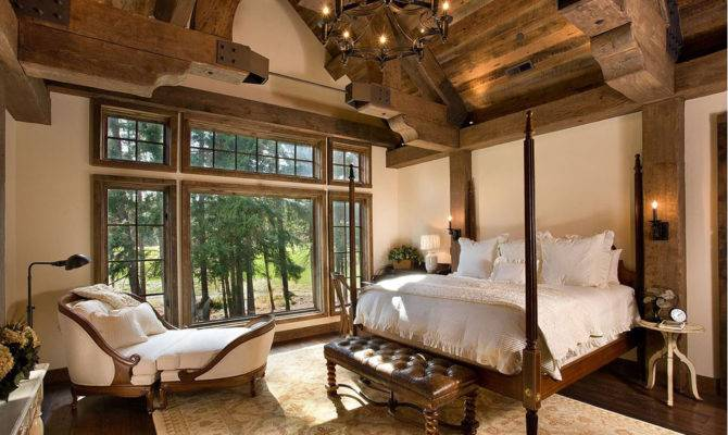 Bellegrey Interior Design Lodge Style Bedroom