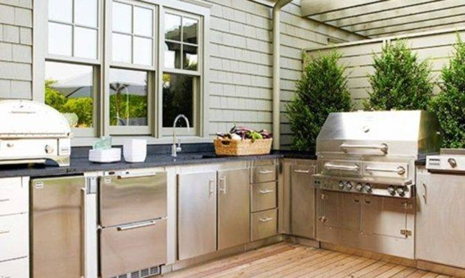 Benefits Divine Outdoor Kitchen Your Home