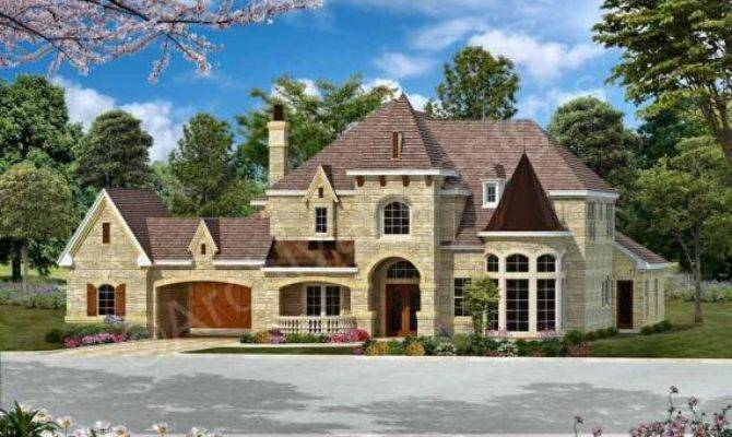 Bentonville Porte Cochere House Courtyard Plans