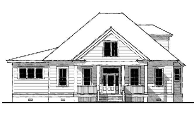Bermuda Bluff Cottage House Plan