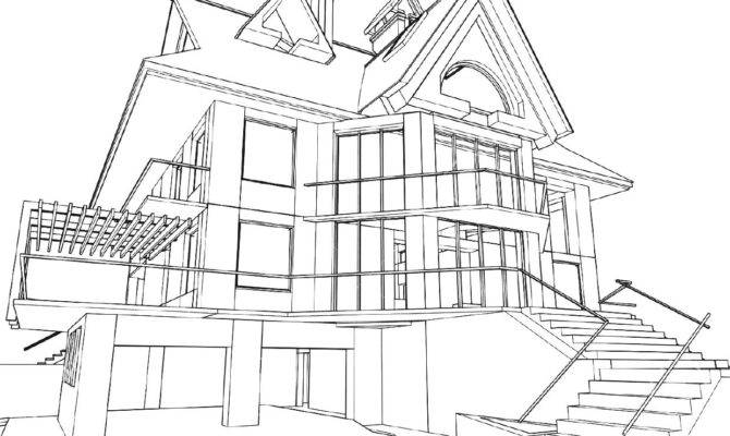 Best Architecture House Drawing Plans Homelk