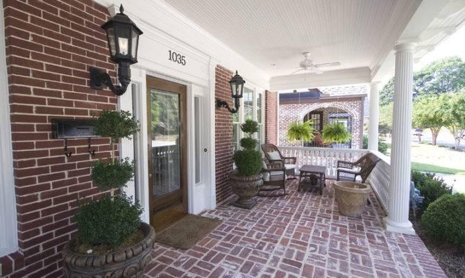 Best Brick Front Porches Home Building Plans