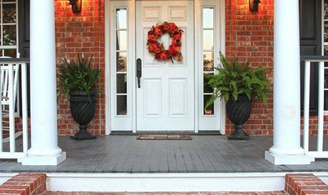 Best Brick Porch Ideas Pinterest Southern