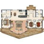 Best Bungalow Floor Plans Ideas Pinterest Cottage