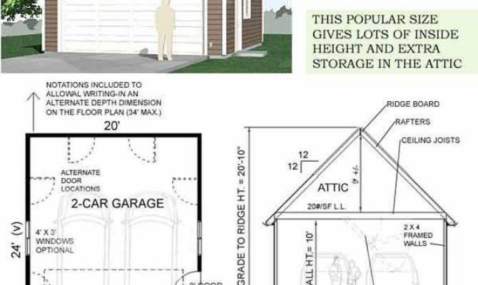 Best Car Garage Plans Ideas Pinterest