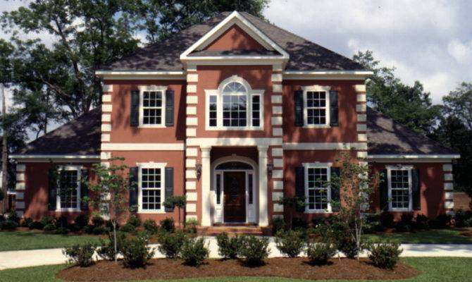 Best Colonial Luxury House Plans Home Building