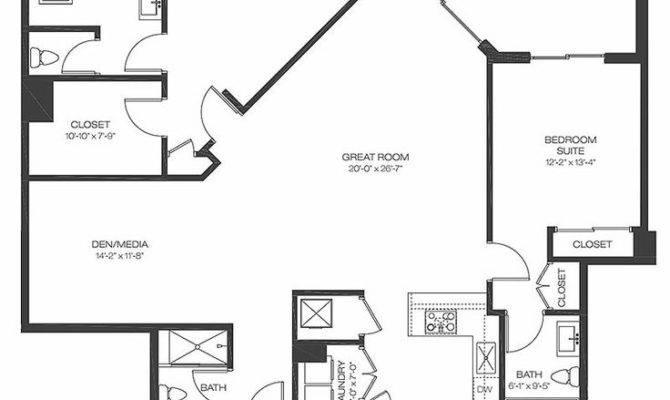 Best Condo Floor Plans Ideas Pinterest Bedroom
