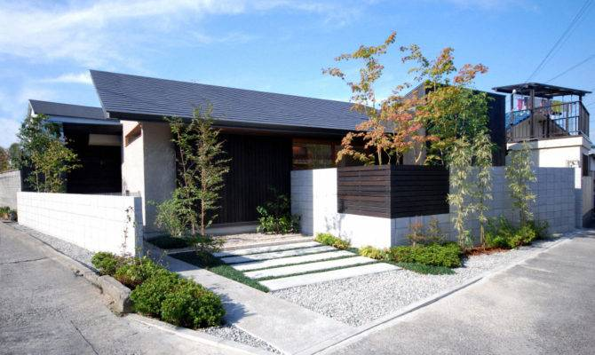Best Design Idea Modern House One Story Wood Structure