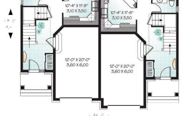 Best Duplex House Plans Ideas Pinterest