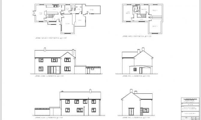 Best House Plan Drawings Single Storey Plans