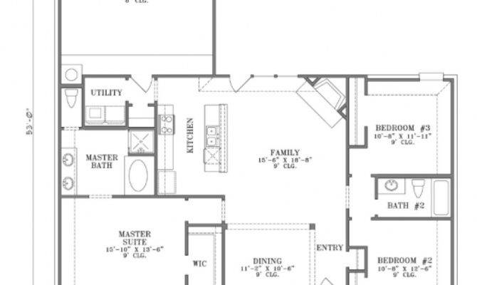 Best One Story Cottage Floor Plans Home Open