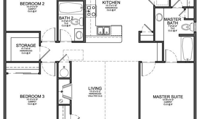 Best Open Floor Plan Pinterest Small