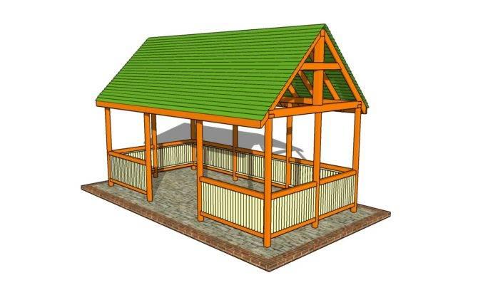 Best Pavilion Building Plans House