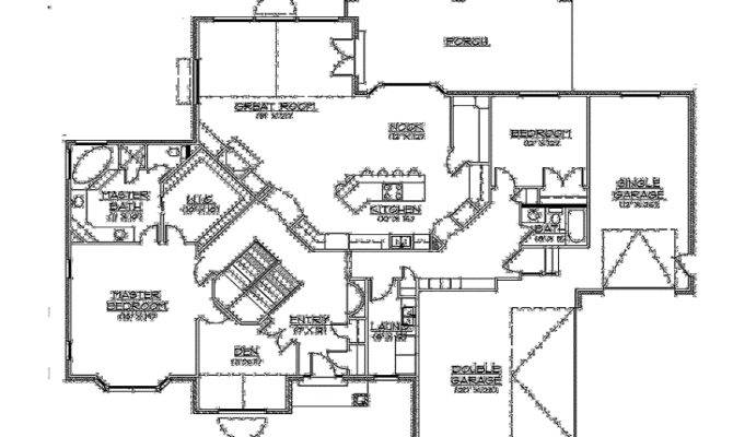 Best Rambler House Plans Walkout Basement