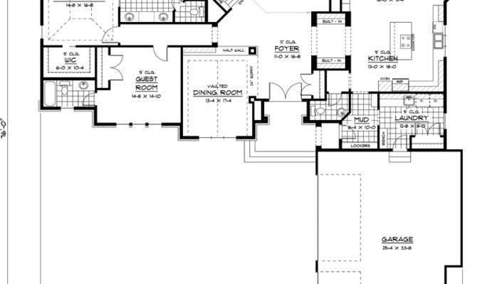 Best Ranch House Floor Plan Home Design Style Home Plans Blueprints 103994