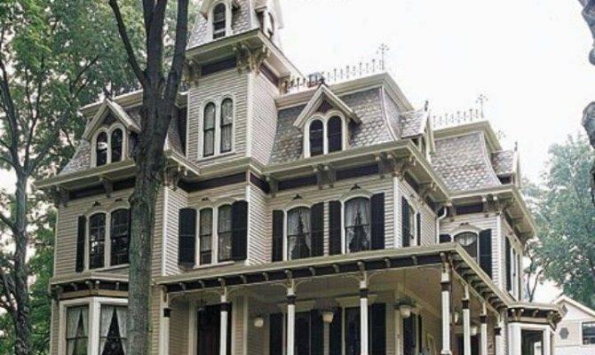 Best Second Empire Victorian Homes Pinterest