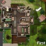 Best Simple Sims Mansion Floor Plans Ideas Building