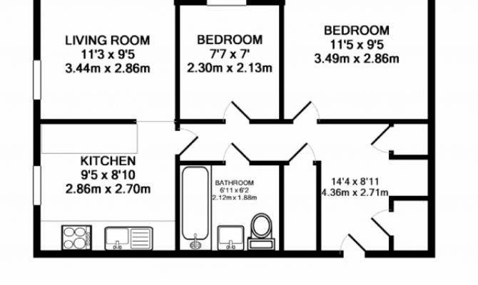 Best Three Bedroom Flat Floor Plan Home Intercine