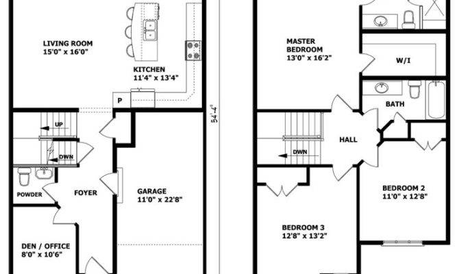 Best Two Storey House Plans Ideas Pinterest