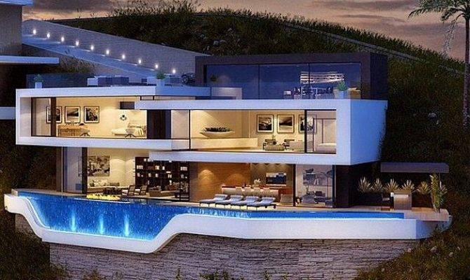 Best Ultra Modern Homes Pinterest
