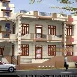 Bhandar House Project Exterior Design Modling Naksha