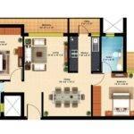 Bhk Apartment Floor Plan